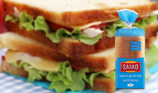 Sasko Low GI All-in-One White Bread